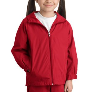 Youth Hooded Raglan Jacket Thumbnail