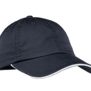 Ladies Sandwich Bill Cap with Striped Closure Thumbnail
