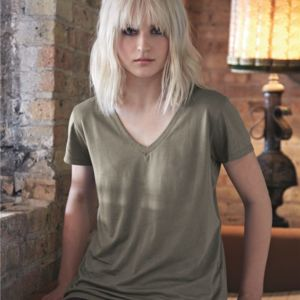 Women's Cotton Modal Everyday V-Neck T-Shirt Thumbnail