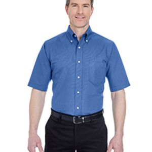 Men's Tall Classic Wrinkle-Resistant Short-Sleeve Oxford Thumbnail