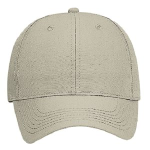 OTTO Recycled Canvas Six Panel Low Profile Baseball Cap Thumbnail