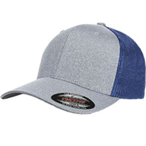 Adult Poly Mélange Stretch Mesh Cap Thumbnail